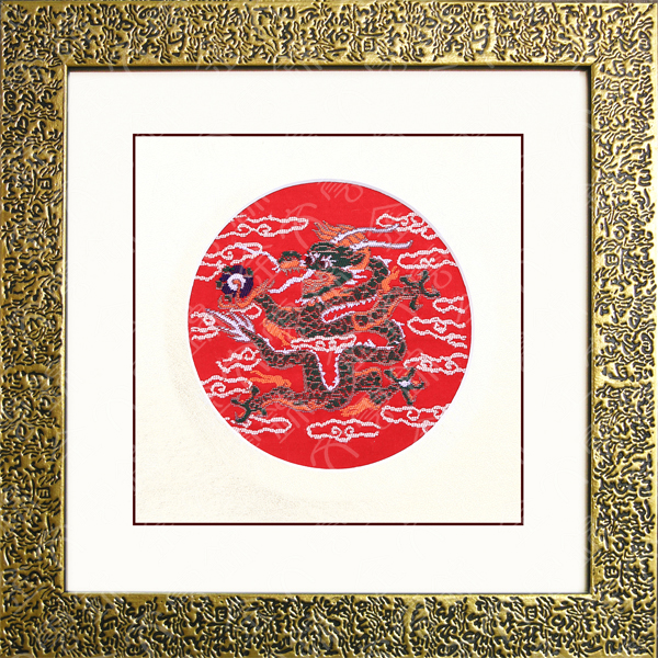 红色欧式暗花墙纸