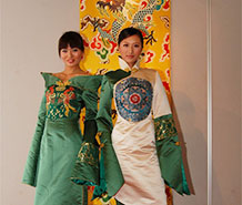 云锦时装秀服装展示