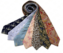 云锦蚕丝领带